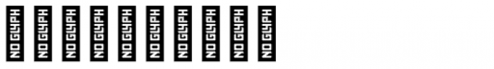 Represent Stencil Medium Font OTHER CHARS