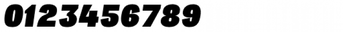 Republica 4F Black Italic Font OTHER CHARS