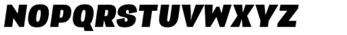 Republica 4F Black Italic Font UPPERCASE