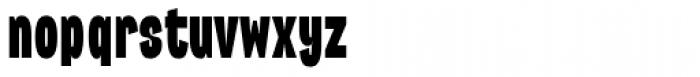 Republica 4F Comp Black Font LOWERCASE