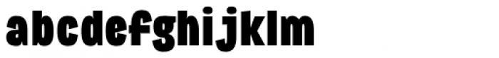 Republica 4F Cond Black Font LOWERCASE