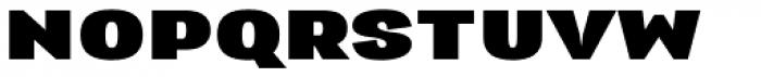Republica 4F Extra Wide Black Font UPPERCASE