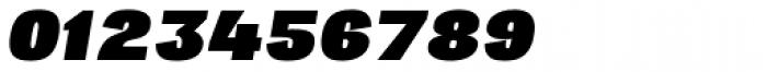 Republica 4F Wide Black Italic Font OTHER CHARS