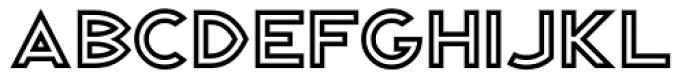 Republik Sans ICG 03 Font LOWERCASE