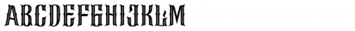 Requiem Regular Font LOWERCASE