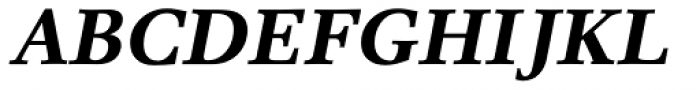 Res Publica Bold Italic Font UPPERCASE