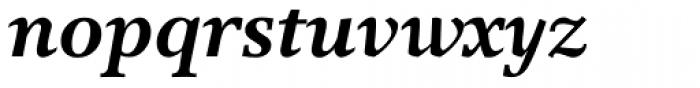Res Publica Bold Italic Font LOWERCASE