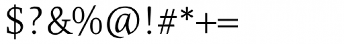 Resavska Light Font OTHER CHARS