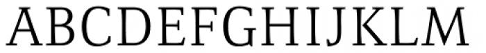 Resavska Light Font UPPERCASE