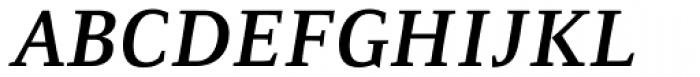 Resavska Medium Bold Italic Font UPPERCASE