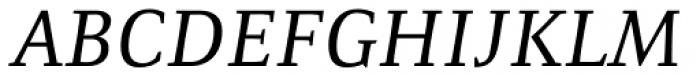 Resavska Medium Italic Font UPPERCASE