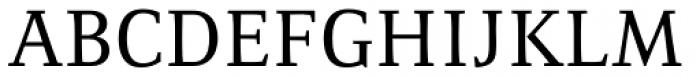 Resavska Medium Font UPPERCASE