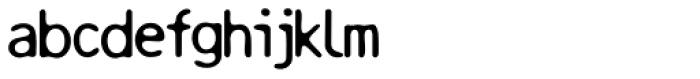 Resbaloso Regular Font LOWERCASE