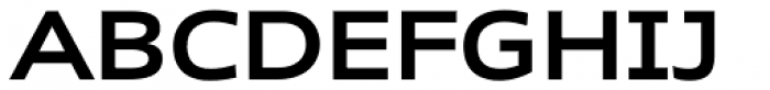 Rescue Wide SemiBold Font UPPERCASE