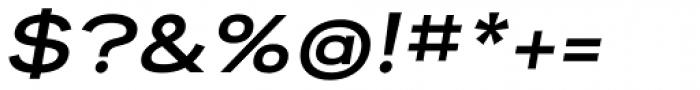 Reservation Wide Bold Oblique Font OTHER CHARS