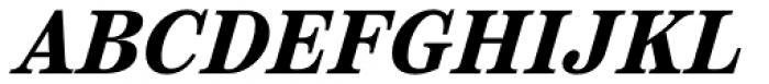 Reserve Bold Italic Font UPPERCASE