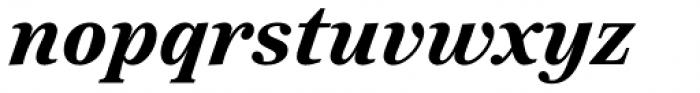 Reserve Bold Italic Font LOWERCASE