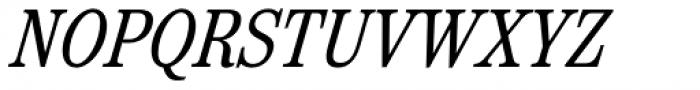 Reserve Condensed Italic Font UPPERCASE