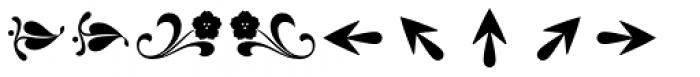 Reserve Dingbats Font UPPERCASE
