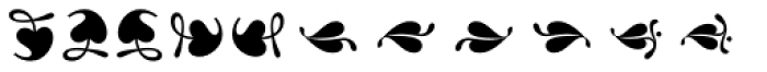 Reserve Dingbats Font LOWERCASE