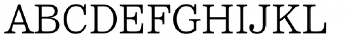Reserve Light Font UPPERCASE
