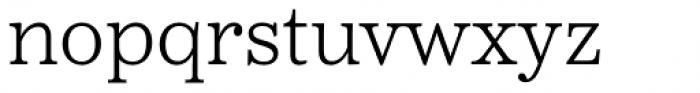 Reserve Light Font LOWERCASE