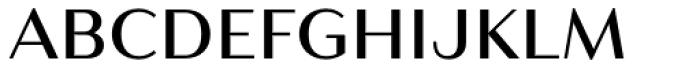 Resort Sans Regular Font UPPERCASE