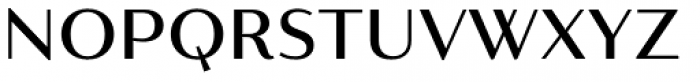 Resort Sans Regular Font LOWERCASE