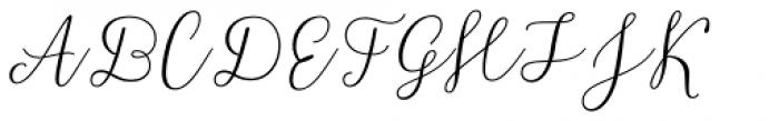 Resort Script Light Font UPPERCASE