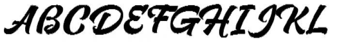 Respect Bold Pixel Font UPPERCASE