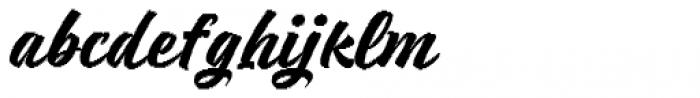 Respect Bold Pixel Font LOWERCASE