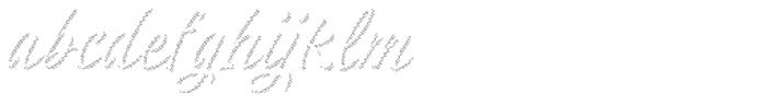 Respect Regular Lines Font LOWERCASE