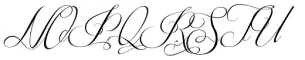 Respective Slanted Font UPPERCASE