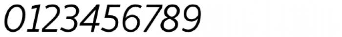 Respublika FY Light Italic Font OTHER CHARS