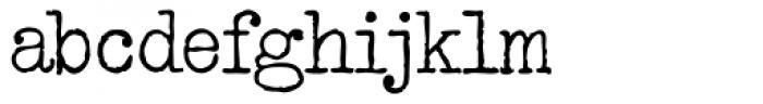 Restraining Order AOE Font LOWERCASE