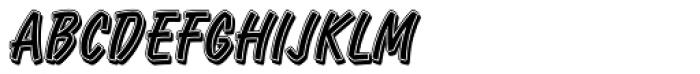 Retail Script Font UPPERCASE