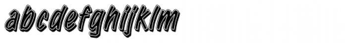 Retail Script Font LOWERCASE