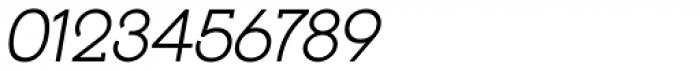 Reto Italic Font OTHER CHARS