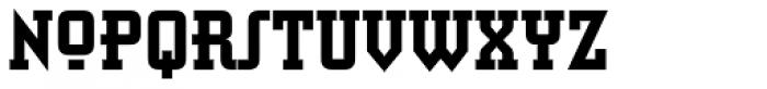 Retro Bold Std Condensed Font UPPERCASE