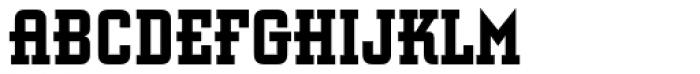 Retro Bold Std Condensed Font LOWERCASE