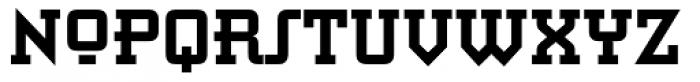 Retro Bold Font UPPERCASE