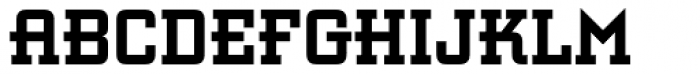 Retro Bold Font LOWERCASE