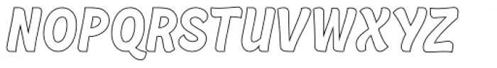 Retrochips Line Font UPPERCASE
