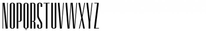 Retrofont Light Font UPPERCASE