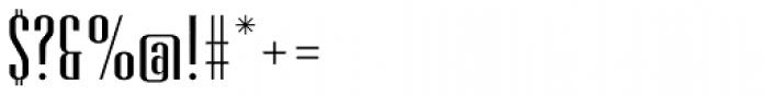 Retrofont Font OTHER CHARS