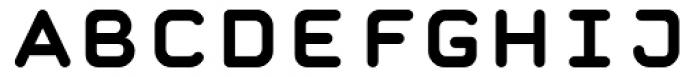 Retrograde Bold Font UPPERCASE