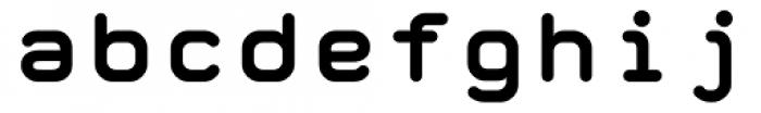 Retrograde Bold Font LOWERCASE