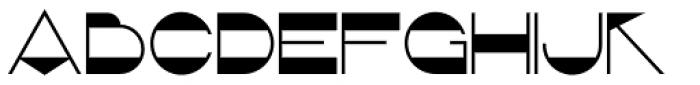 Retrorocket NF Font UPPERCASE