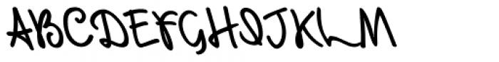 Retrouvailles Backslanted Font UPPERCASE
