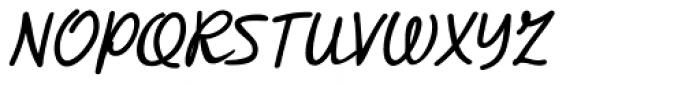 Retrouvailles Regular Font UPPERCASE